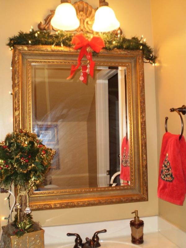 decoracao de lavabo para o natal:lavaboNATAL (2)